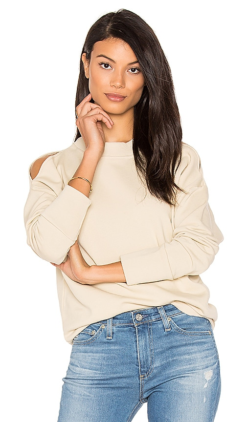 Varley Carbon Sweatshirt in Cream