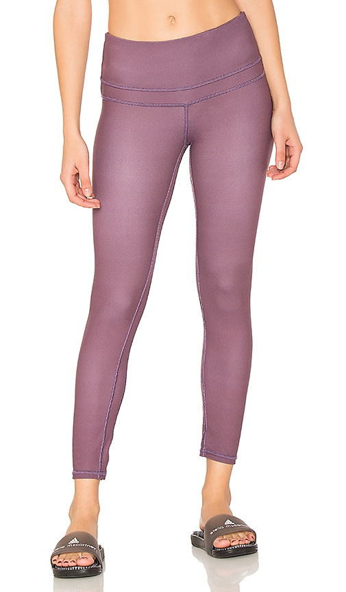 Varley Camdon Crop Legging in Purple