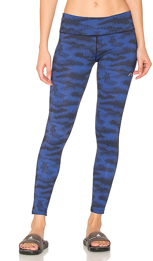 Varley Decker Crop Legging in Navy