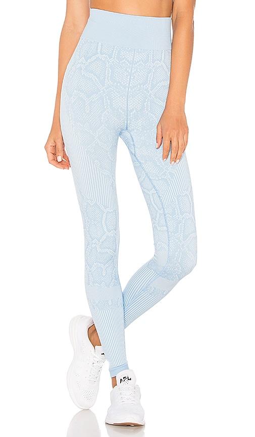 0f097f79fd328e Varley Quincy High Rise Legging in Sky Blue Snake | REVOLVE