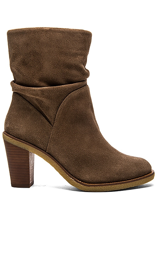 Vince Camuto Parka Bootie in Midnight Taupe