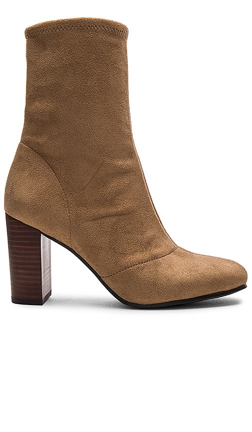 Vince Camuto Sendra Booties in Tan