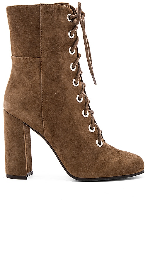 Vince Camuto Teisha Booties in Olive