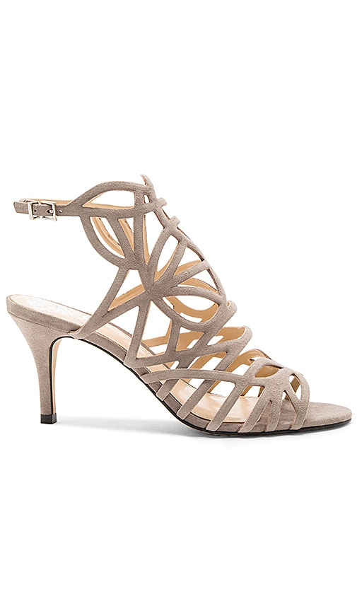 Vince Camuto Pelena Heel in Taupe