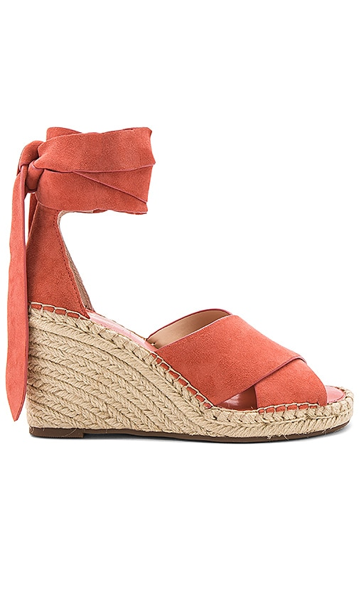 Vince Camuto Leddy Wedge in Coral