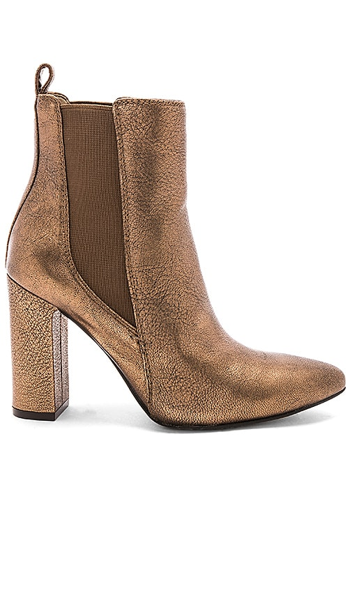 6666f9b6b307 Vince Camuto Britsy Bootie in Bronze | REVOLVE