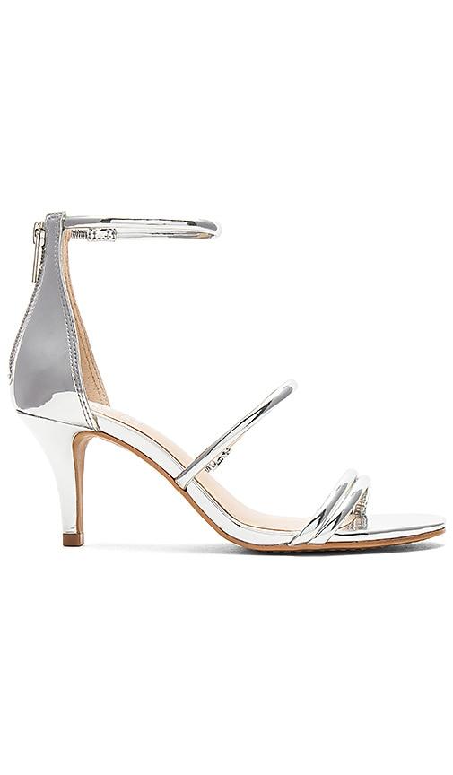 Vince Camuto Aviran Heel in Metallic Silver