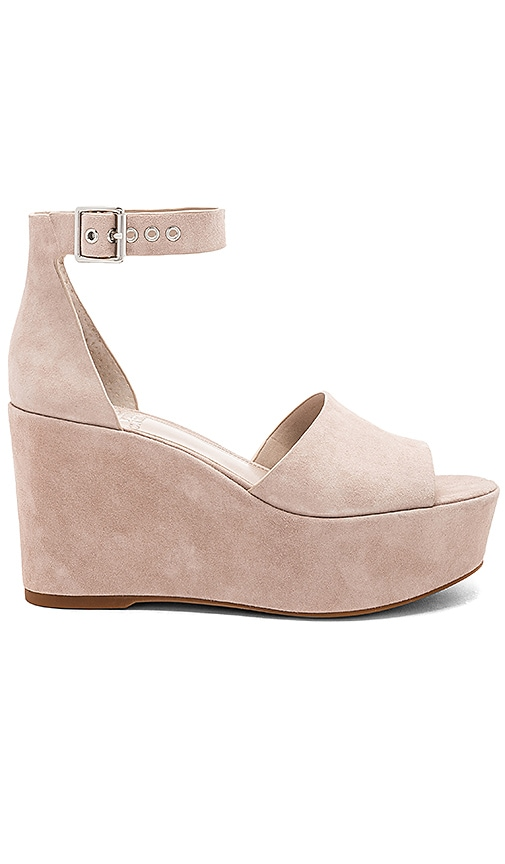 Vince Camuto Korista Wedge in Grey