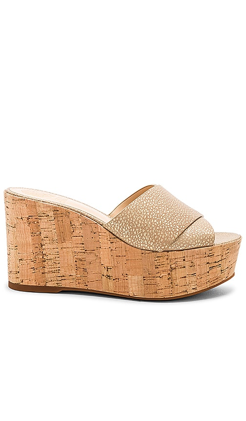 Vince Camuto Kessina Wedge in Tan