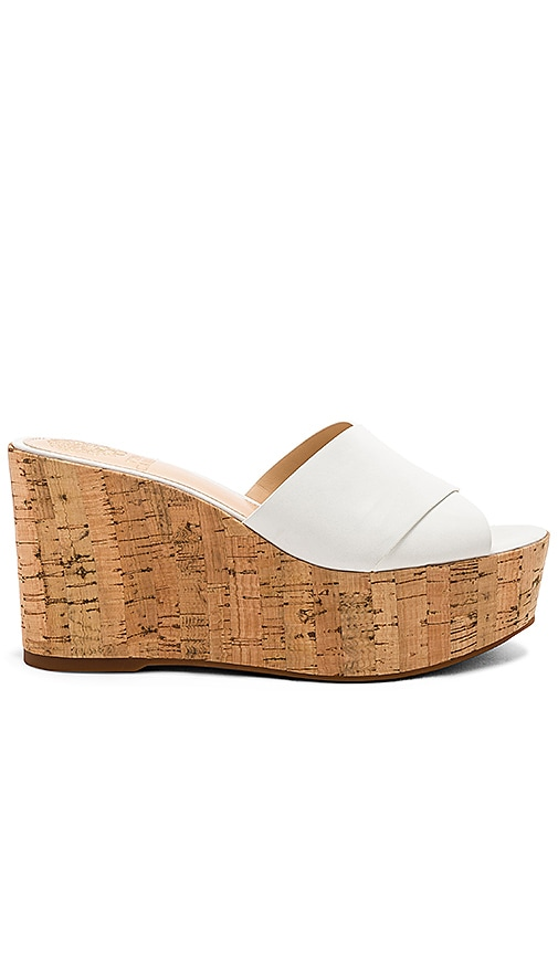 Vince Camuto Kessina Wedge in White
