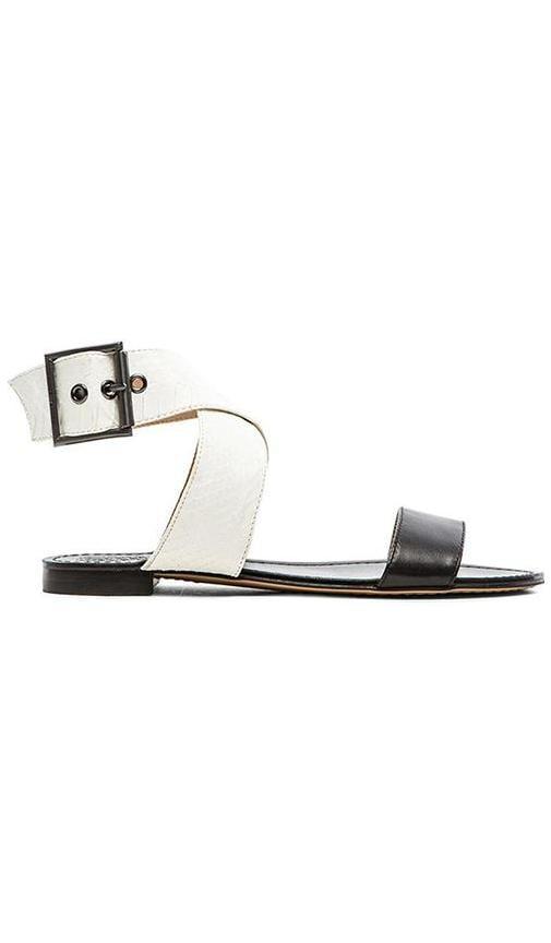 Vince Camuto Maren Sandal in New Ivory & Black