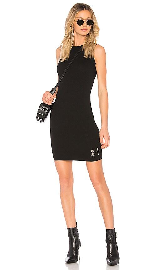Versus by Versace Bodycon Mini Dress in Black