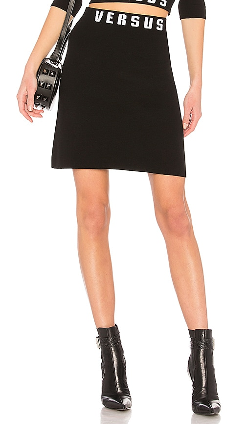 Versus by Versace Mini Skirt in Black