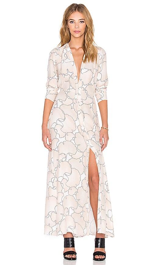 VEDA Veil Dress in Blush