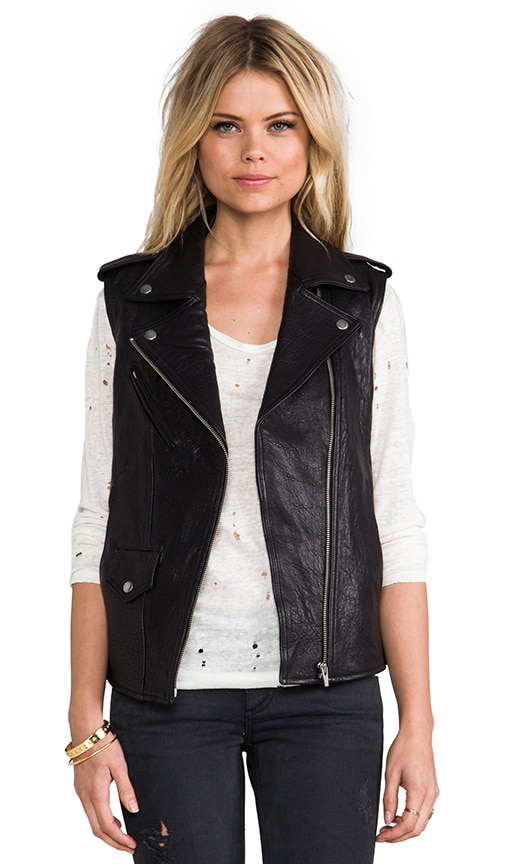 Castor Classic Leather Vest