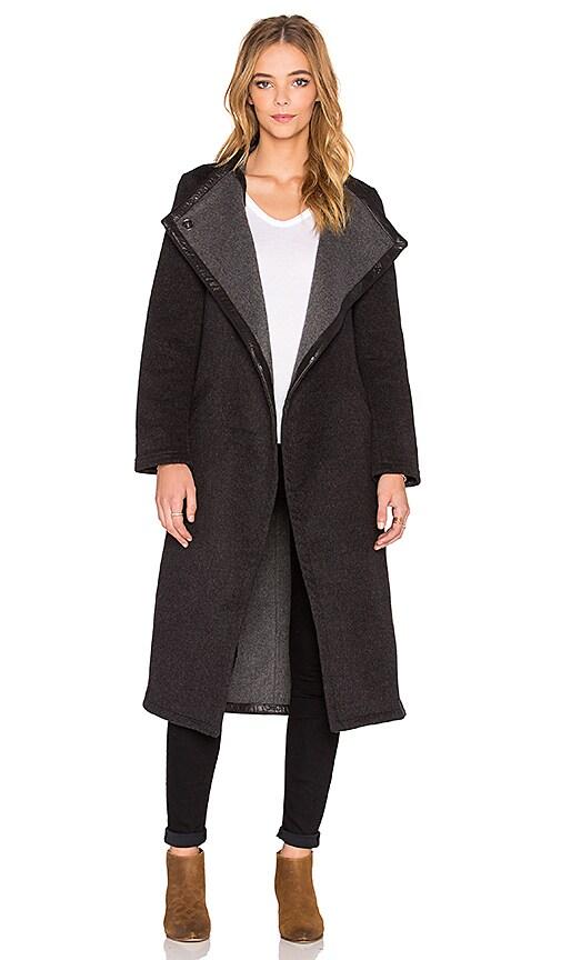 VEDA Loop Coat in Grey