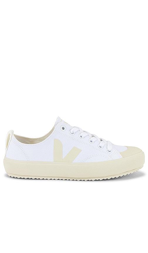 Veja Nova Sneaker in White \u0026 Pierre