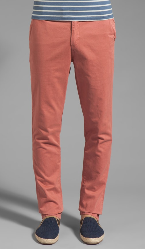 Classic Chino In Salmon