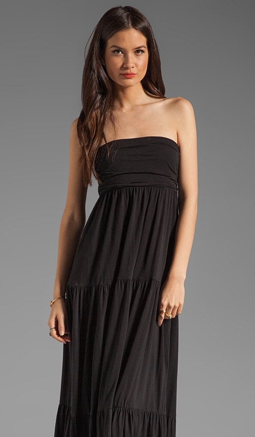 Sheer Jersey Masha Maxi Dress