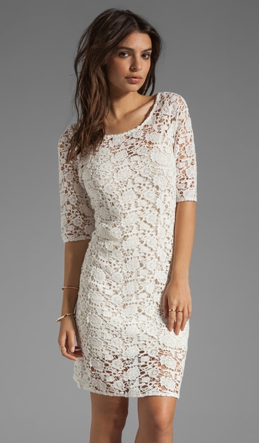 x Lily Aldridge Lily Crochet Lace Dress