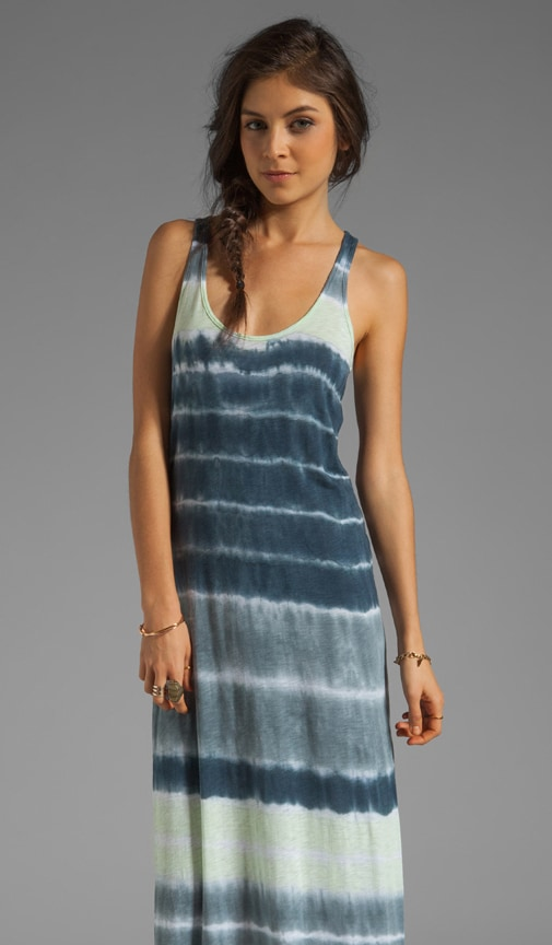 x Lily Aldridge Laura Tie Dye Maxi Dress