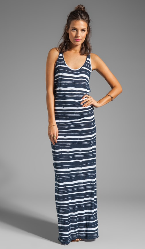 Beth Painted Stripe Dress