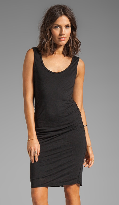 Eliana Luxe Slub Dress