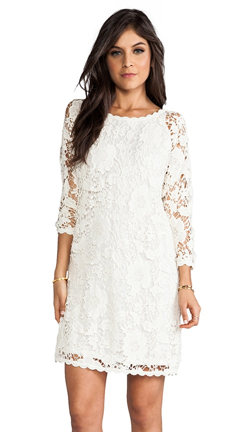 Leslea Cotton Crochet Dress