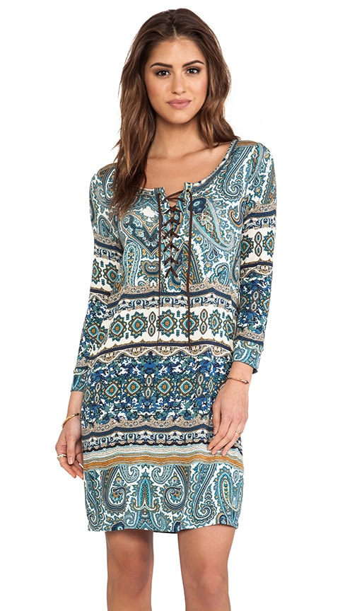 Posy Taj Print Dress