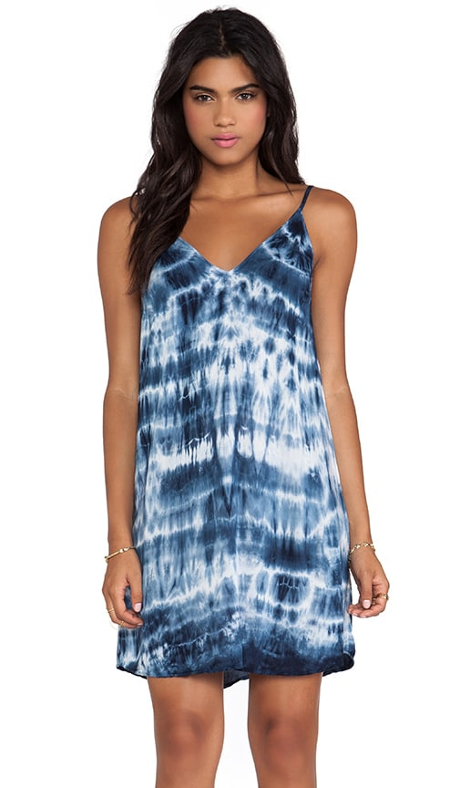 Anatasi Tie Dye Rayon Voile Dress