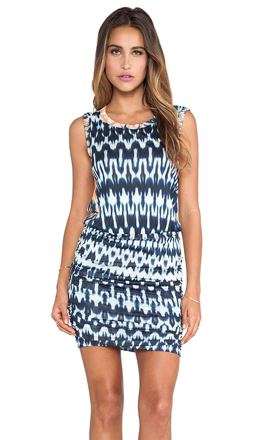 Brianna Summer Ikat Dress