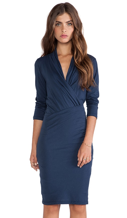 Roza Gauzy Whisper Wrap Dress