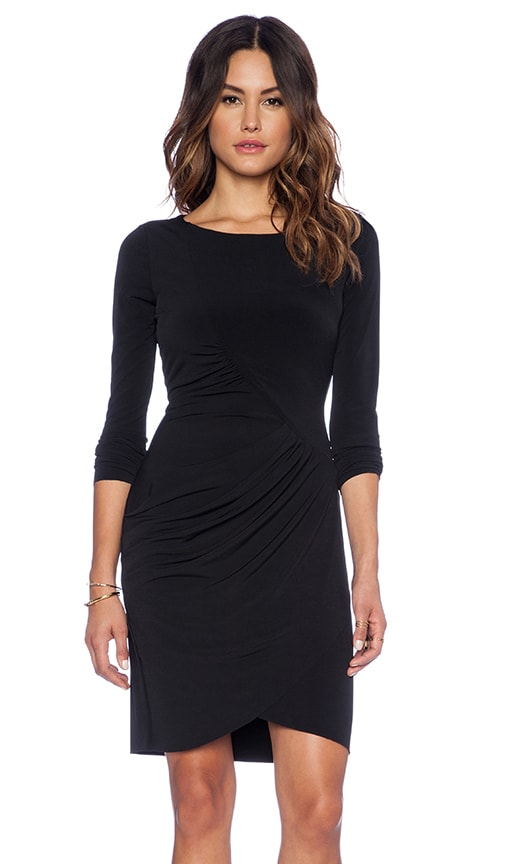 Dove Stretch Jersey with Lace Dress
