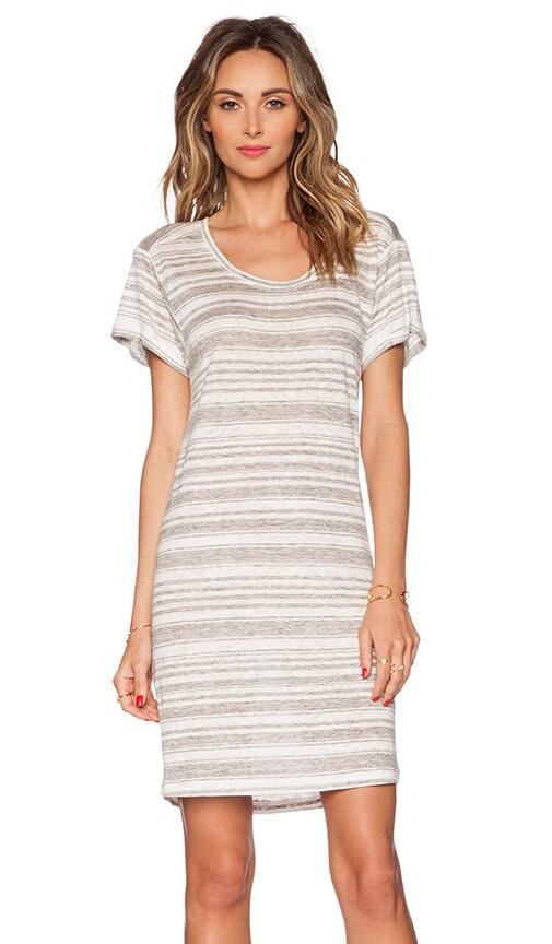Heather Stripe Linen Vika Dress