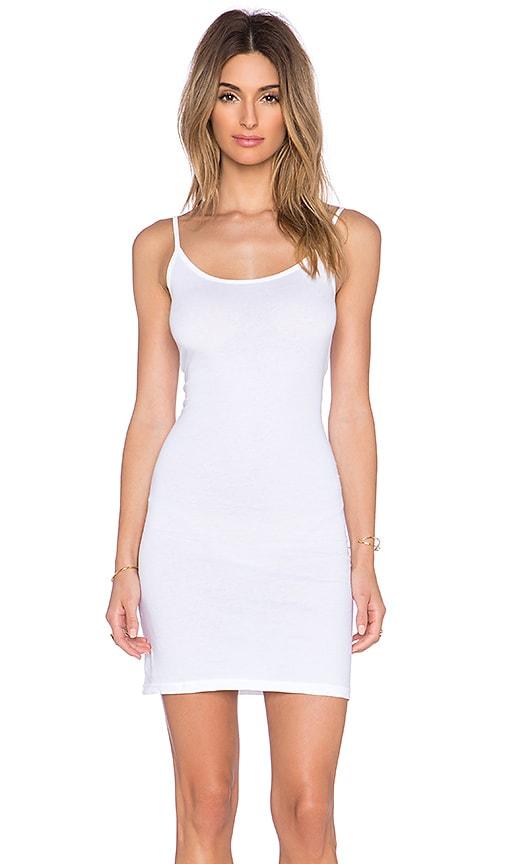 Velvet by Graham & Spencer Scarlett Gauzy Whisper Dress in White