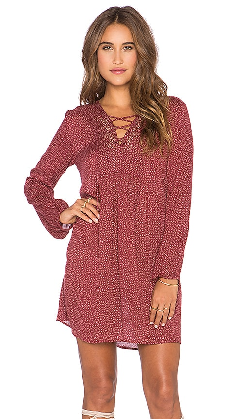 Sloane Whitney Ethnic Print Dress