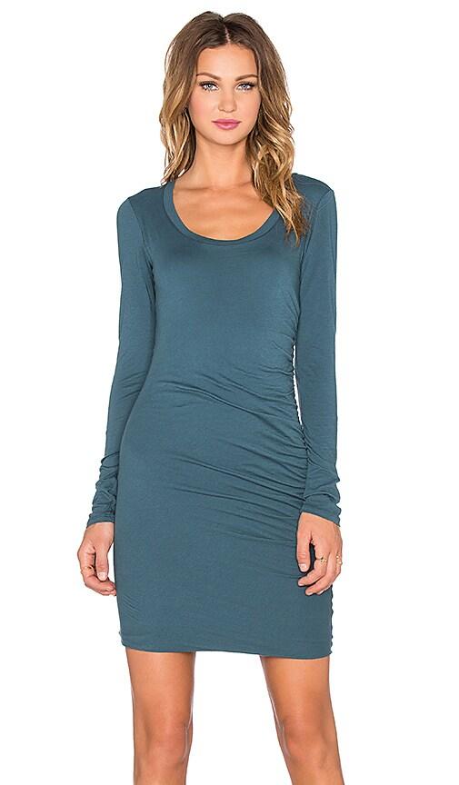 Velvet by Graham & Spencer Atarah Gauzy Whisper Dress in Caper