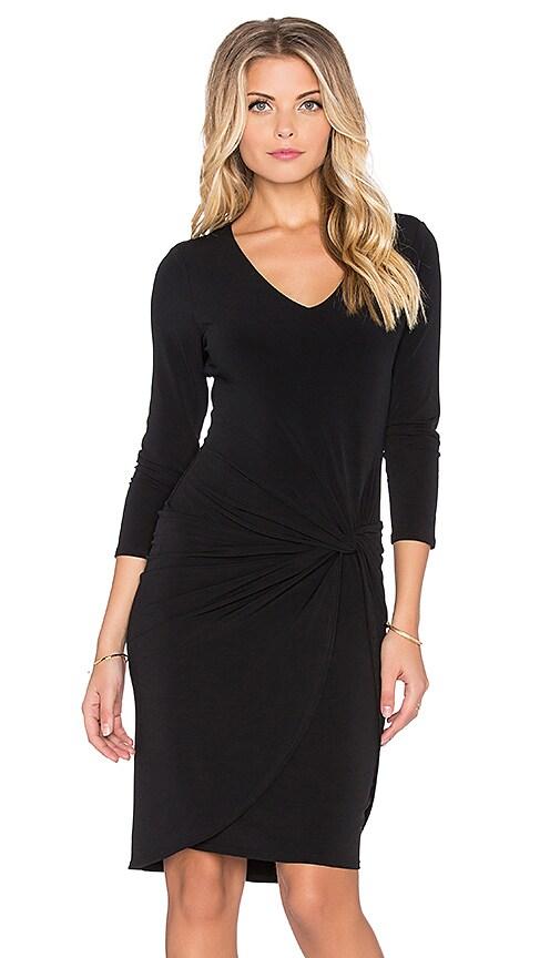 Wendolyn Long Sleeve Twist Front Mini Dress