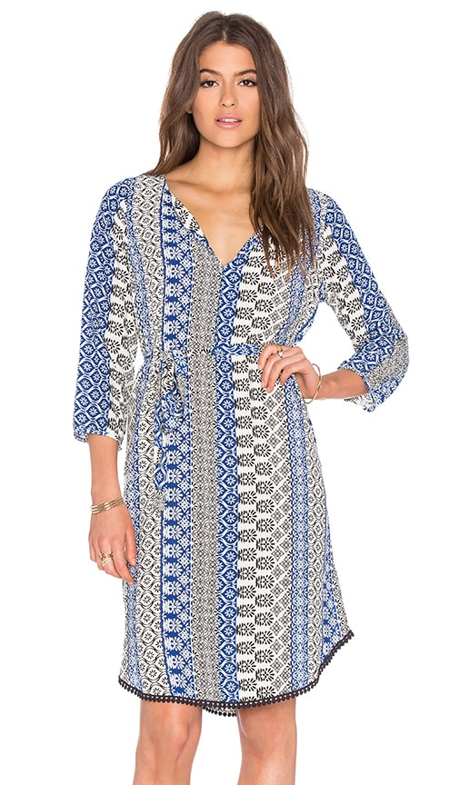 Chivas Tallulah Printed Challis Dress
