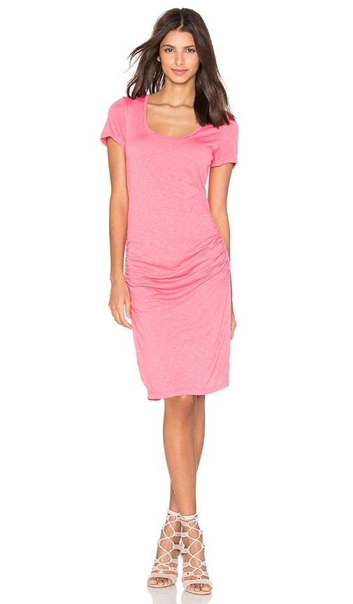Velvet by Graham & Spencer Dina T Shirt Dress in Coral