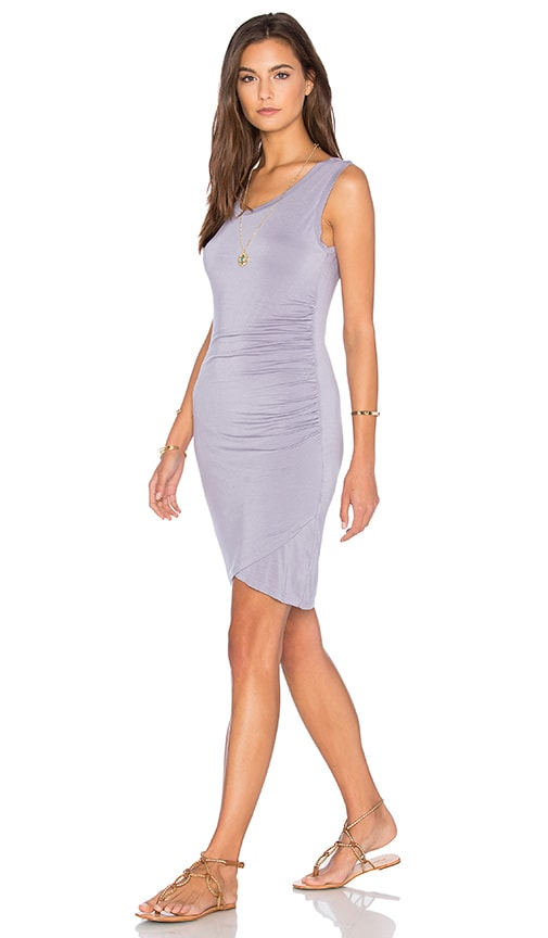 Velvet by Graham & Spencer Shony Modal Knit Bodycon Dress in Purple