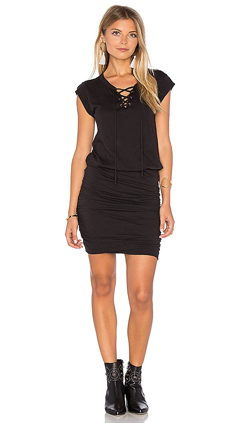 Velvet by Graham & Spencer Karmen Dress in Black