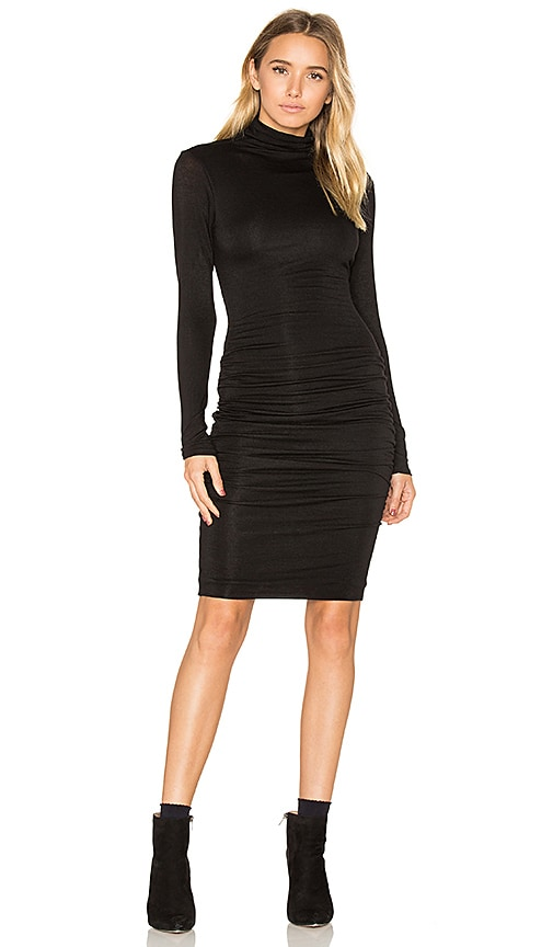 Velvet by Graham & Spencer Lordes Midi Dress in Black