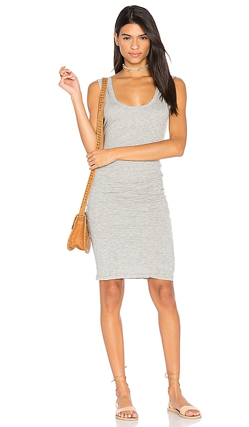 Velvet by Graham & Spencer Varella Tank Dress in Gray