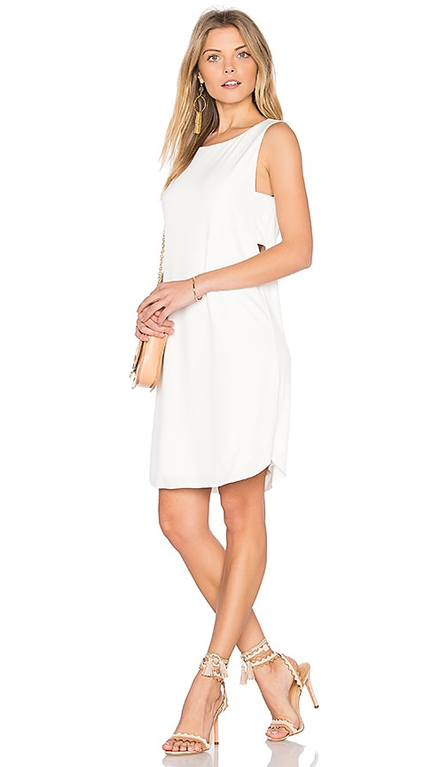 Velvet by Graham & Spencer Eugenia Tank Dress in White