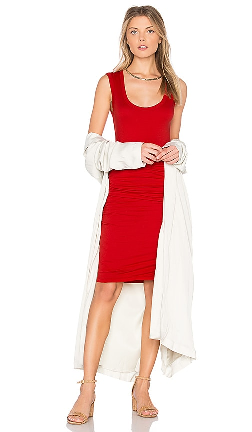 Velvet by Graham & Spencer Varella Tank Dress in Red