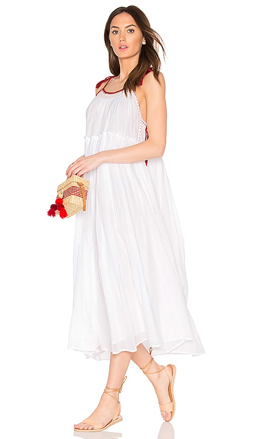 Velvet by Graham & Spencer X Kristy Hume Poppy Dress in White