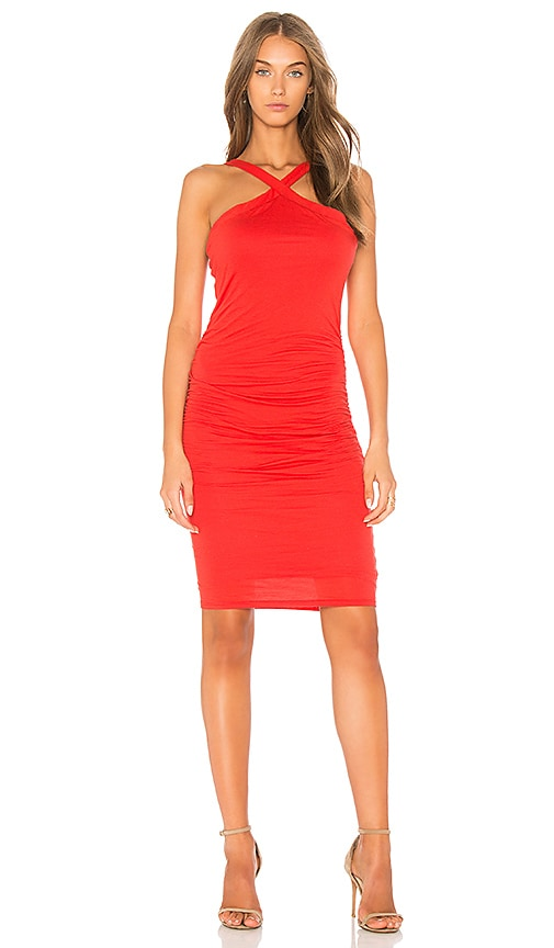 Velvet by Graham & Spencer Carmeline Dress in Red