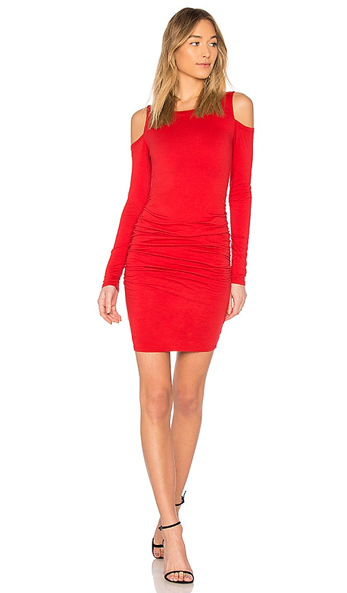 Velvet by Graham & Spencer Antonella Dress in Red