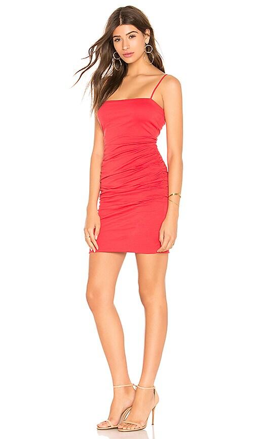 Dale Dress in Red. - size L (also in M,S,XS) Velvet